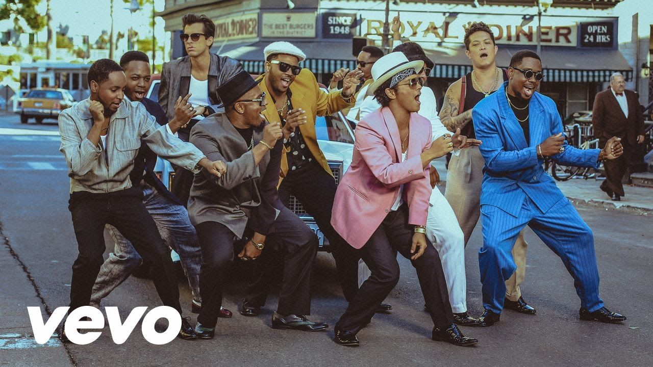 In uptown funk Mark Ronson ft Bruno Mars Official Video. In this video Bruno Mars had look just like Michael Jackson