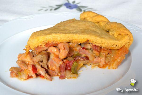 Empanada Gallega De Pollo Bacon Y Chorizo Comida Comidas Con Pollo Recetas De Comida