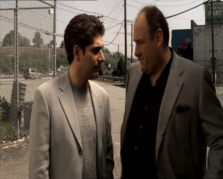 The Sopranos: Season 6, Episode 1 Members Only (12 Mar. 2006)  Michael Imperioli , Christopher Moltisanti,  James Gandolfini , Tony Soprano