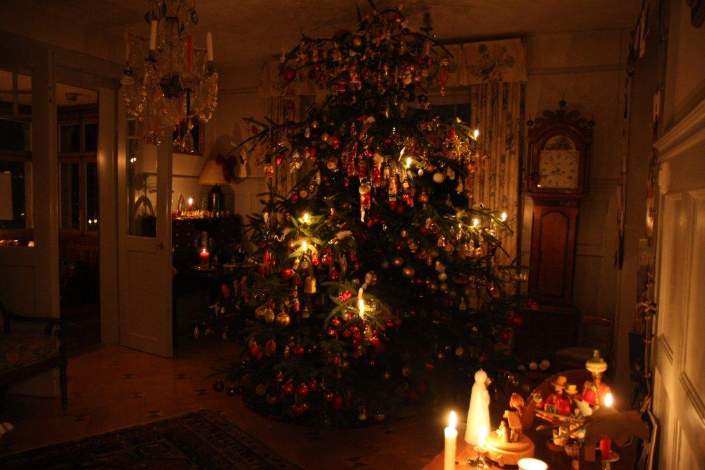 I grew up in Poland with Polish Christmases. My Christmases were always magical, with real candles and crooked trees and beautiful meals and the smell of barszcz and pierogi. I don't think I'll ever be able to do Christmas without a Christmas tree with real candles.