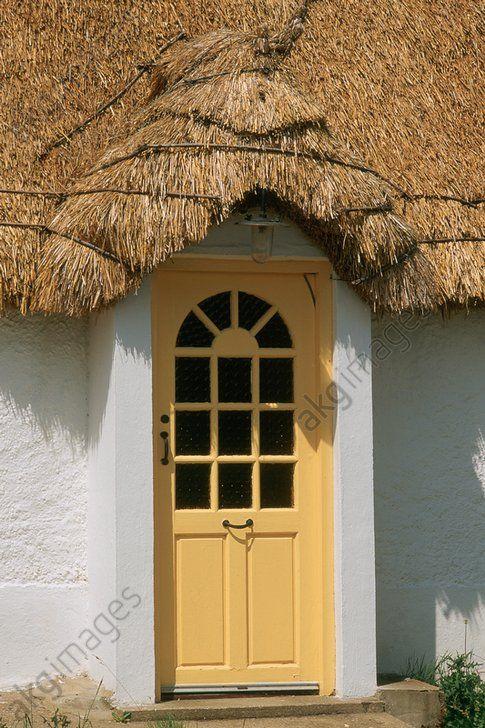 Blackwater (comté de Wexford, Irlande), maison Porte du0027une maison