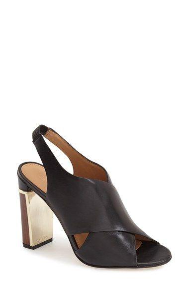 f505299e035f CALVIN KLEIN  Karel  Crisscross Strap Slingback Sandal (Women).   calvinklein  shoes  sandals  slides