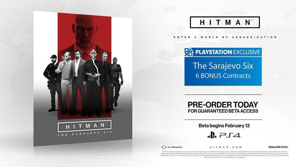 Io Interactive details Hitman Beta PS4 Exclusives Ps4