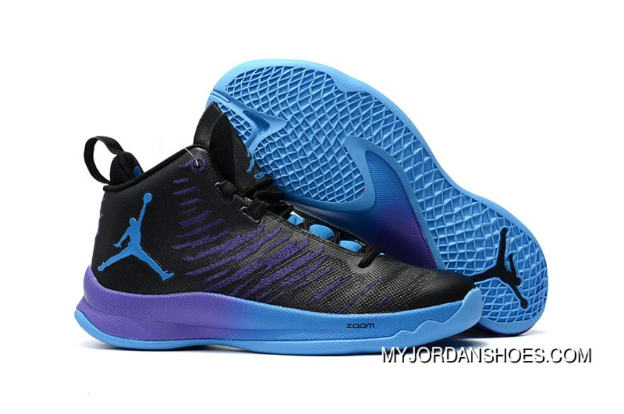 "get new picked up 100% authentic Jordan Super.Fly 5 X ""Black Grape"" New Style 