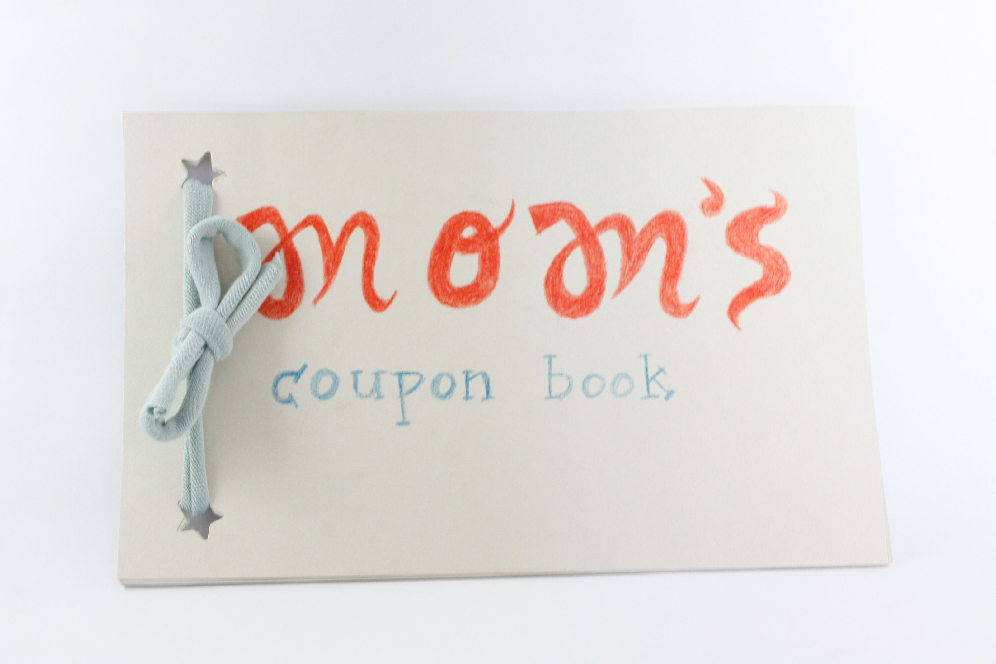make a coupon book for tasks diy christmas clever and coupons
