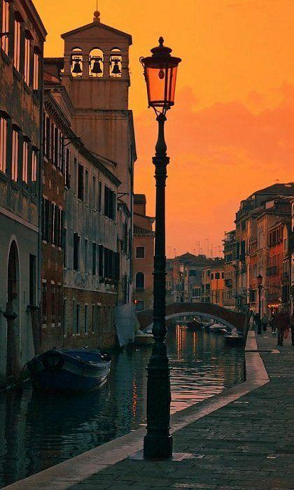 Photo of Venice Italy. Perfect night #Venice