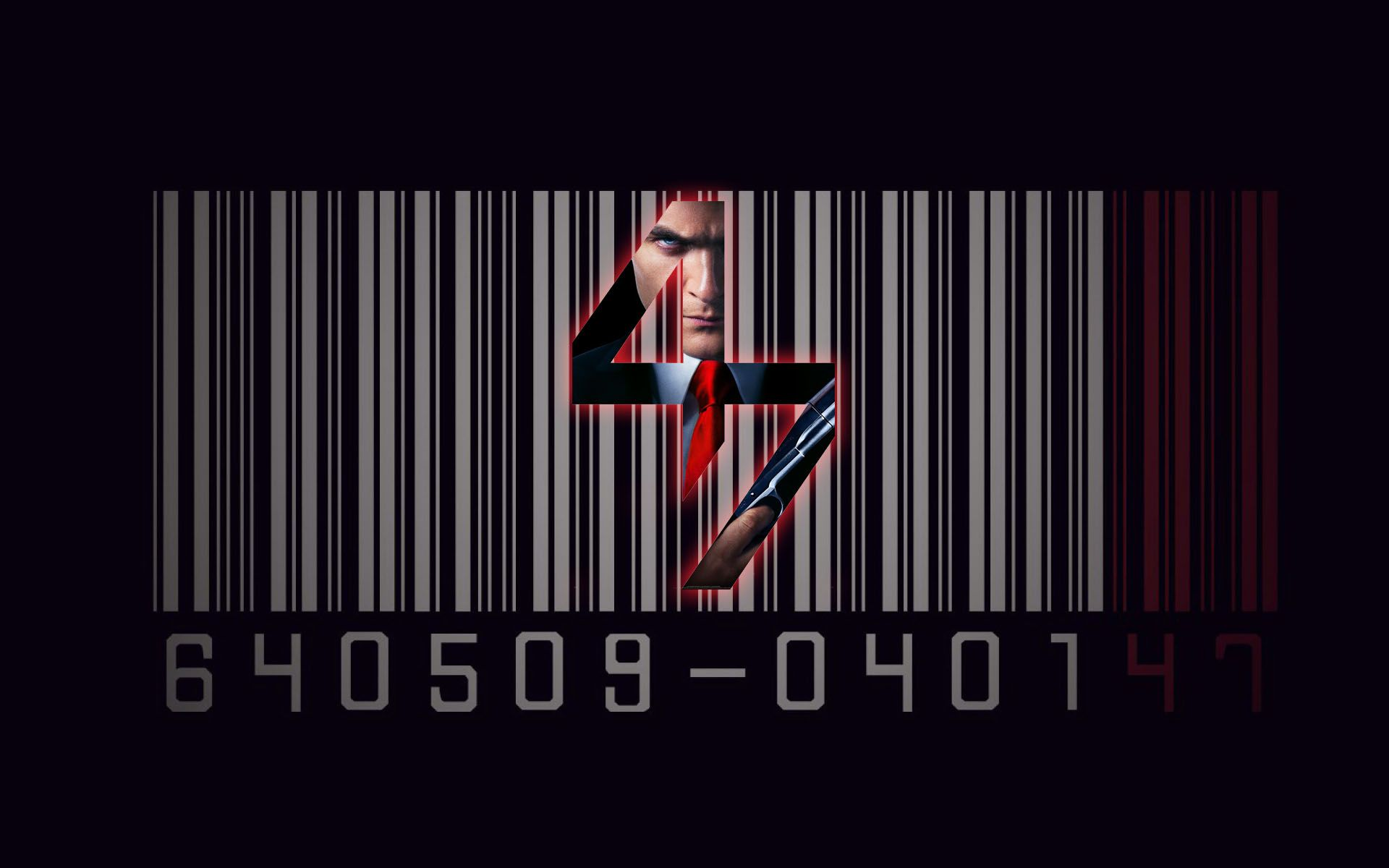 Hitman Agent 47 Barcode Movie Wallpaper Hitman Hitman
