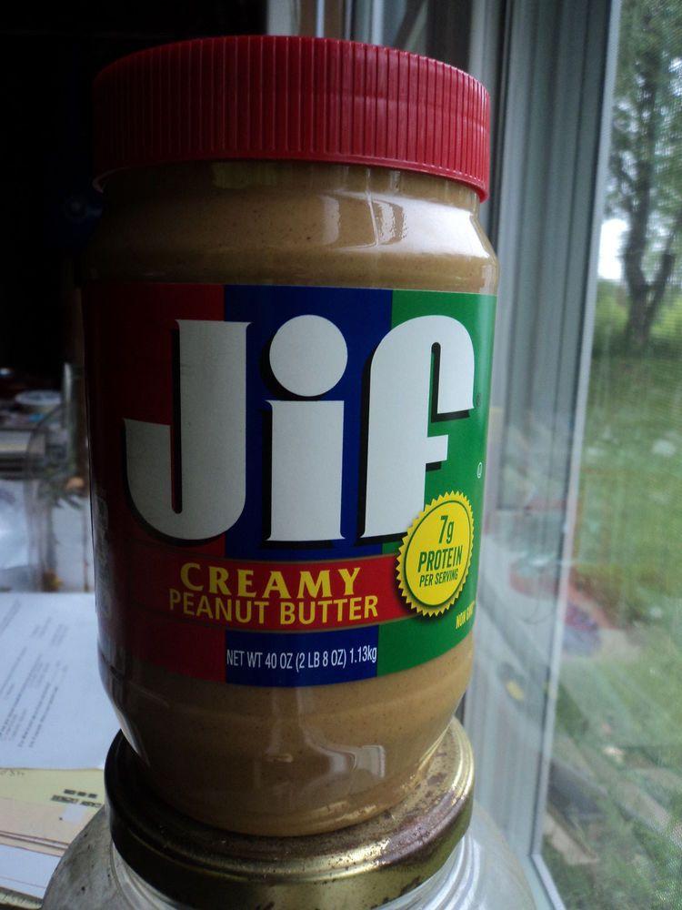 JIF PEANUT BUTTER CREAMY 40 OUNCES FACTORY SEALED EXPIRATION