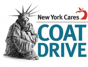 New York Cares winter coat drive 2016
