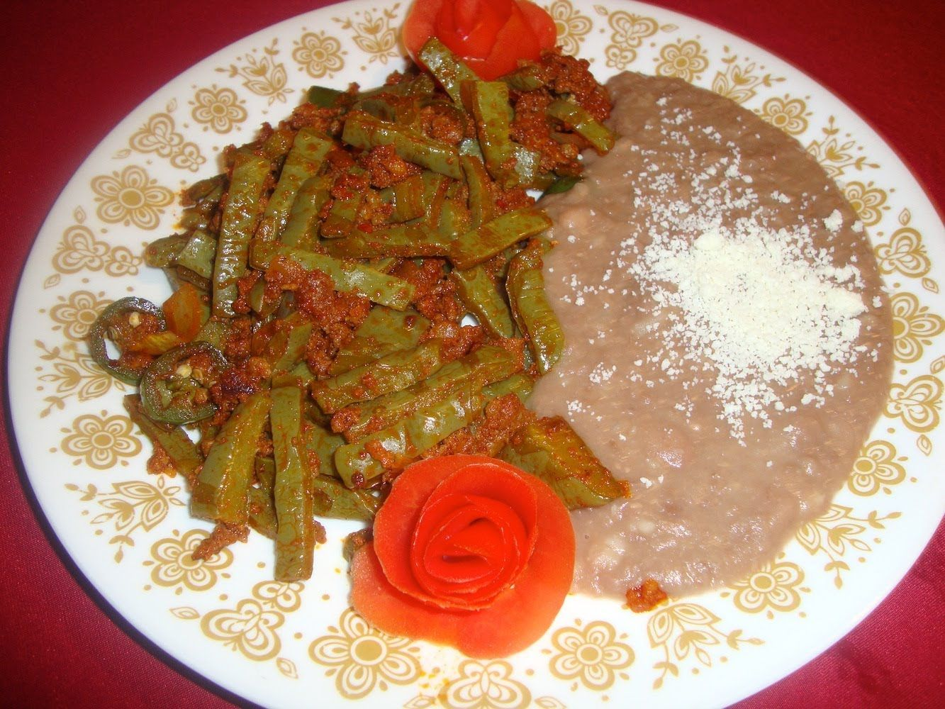 Receta de Nopales con chorizo  Comida mexicana  La