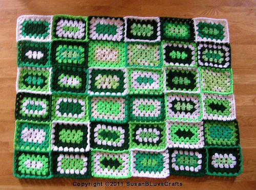 Rectangular Granny Square Afghan - Before Borders by ...
