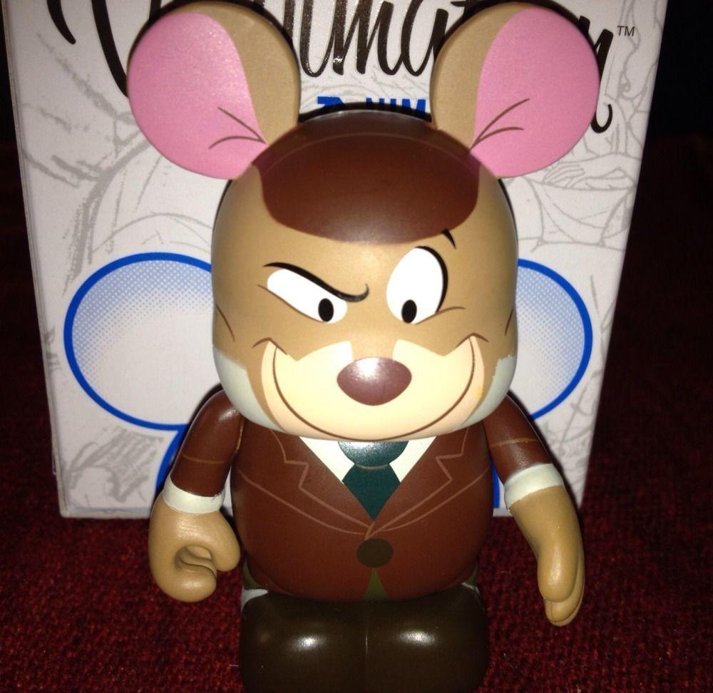"""Vinylmation Disney HIPSTER Minnie Mouse Wonderground Gallery 9/"""" NIB"""