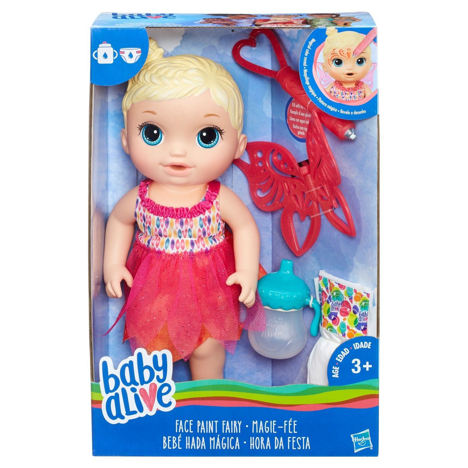 Baby Alive Face Paint Fairy Blonde Target Baby alive