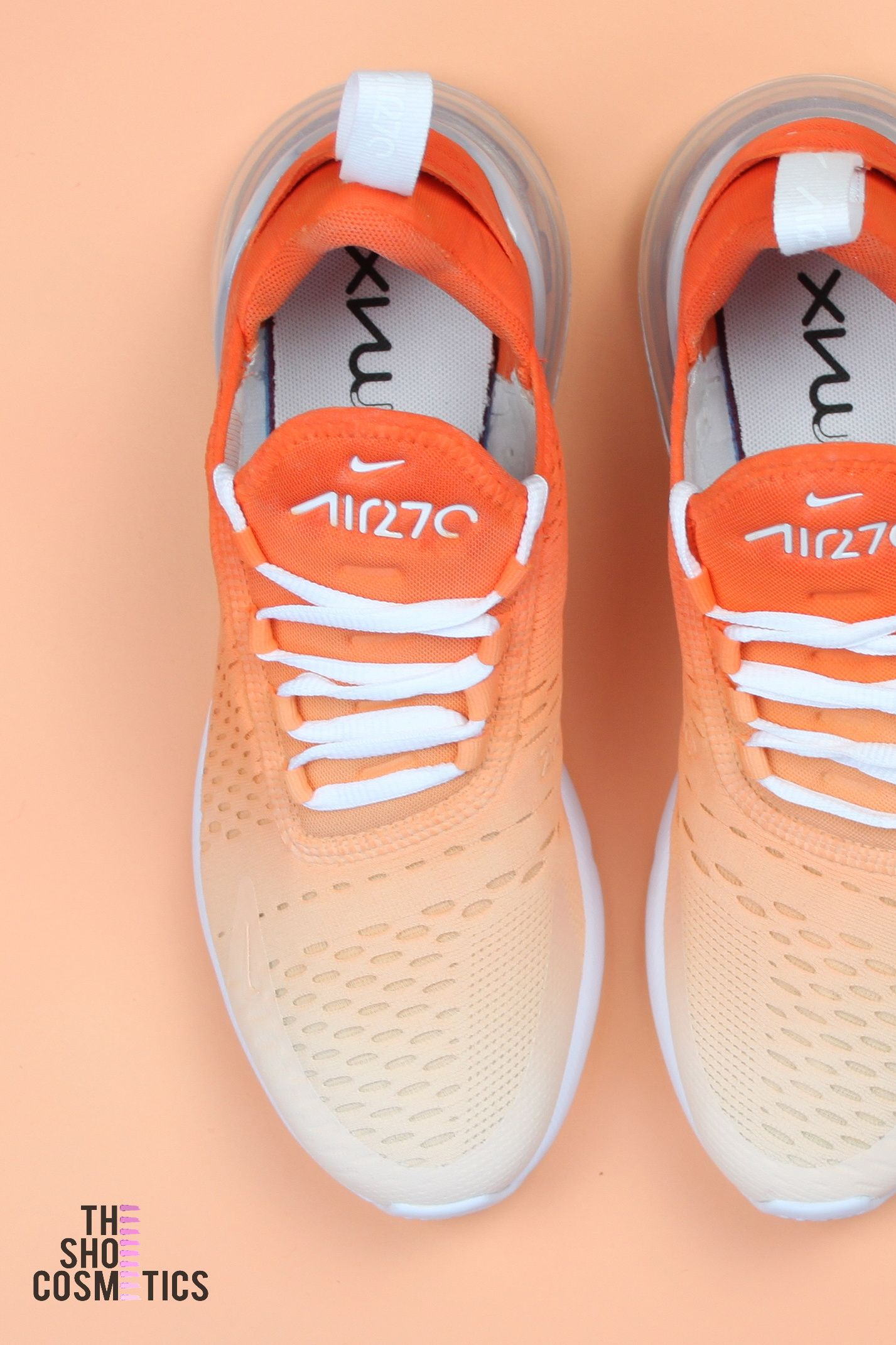 info for 24122 0b1cb In 2019 Custom Orange 270 s Ombre Sneakers Max Nike Air HqxHYp