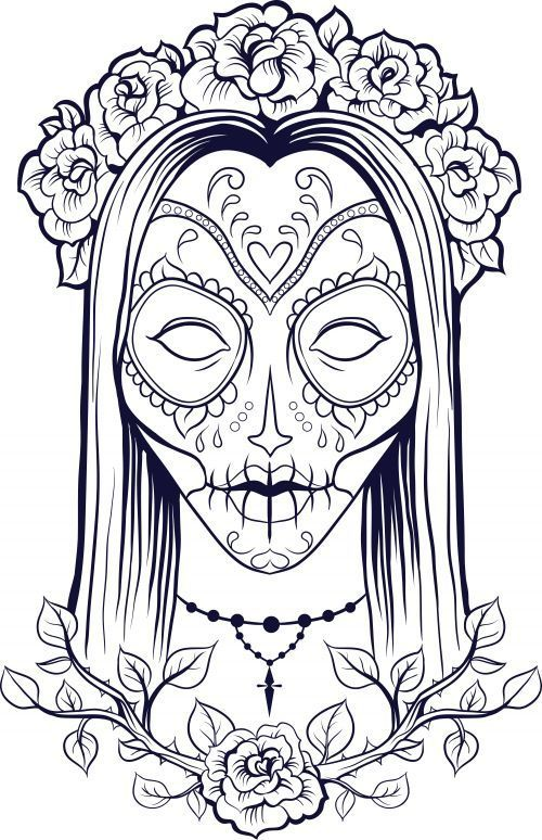 Pin By Elsa Ruiz On Holloween Fall Adult Coloring Pages Coloring