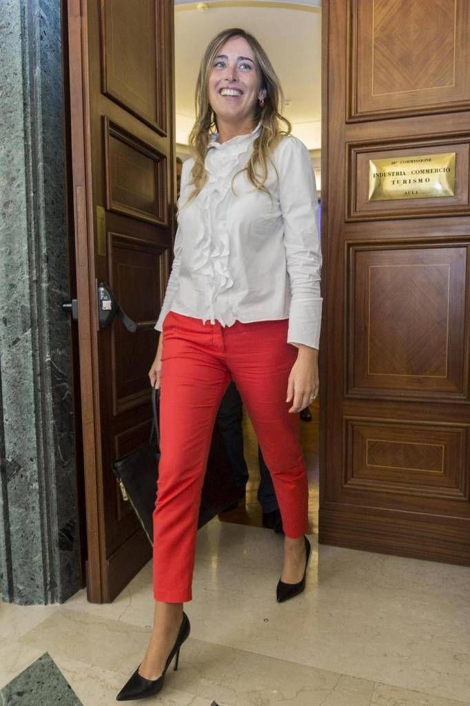 00b995d7d2 Foto Maria Elena Boschi tutti i look della Ministra