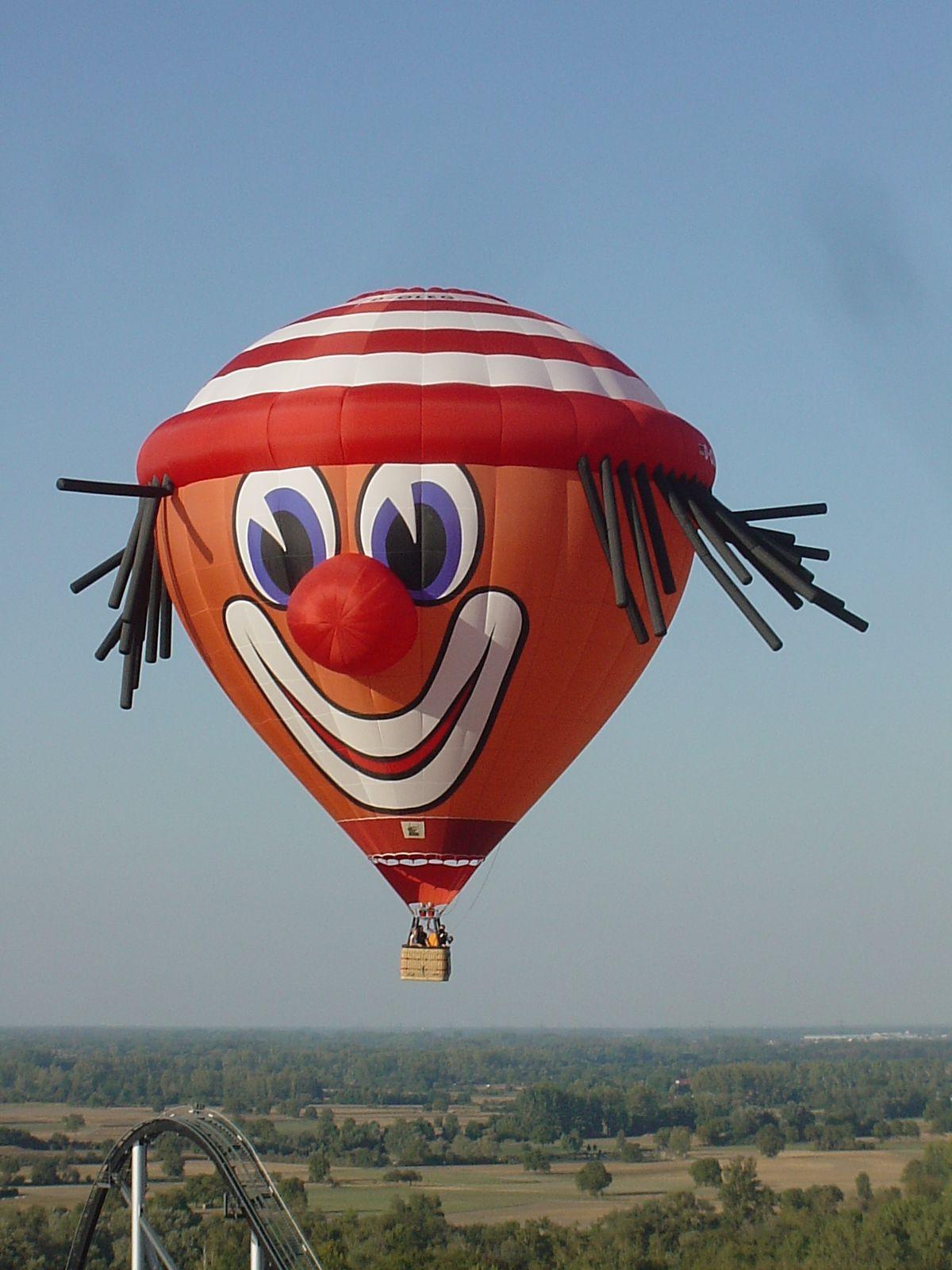 Clown Balloon Air Balloon Festival Hot Air Balloon Clown Balloons