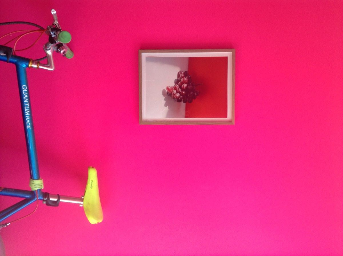 Paint It Out Sarah Illenberger S Neon Pink Bedroom Wall