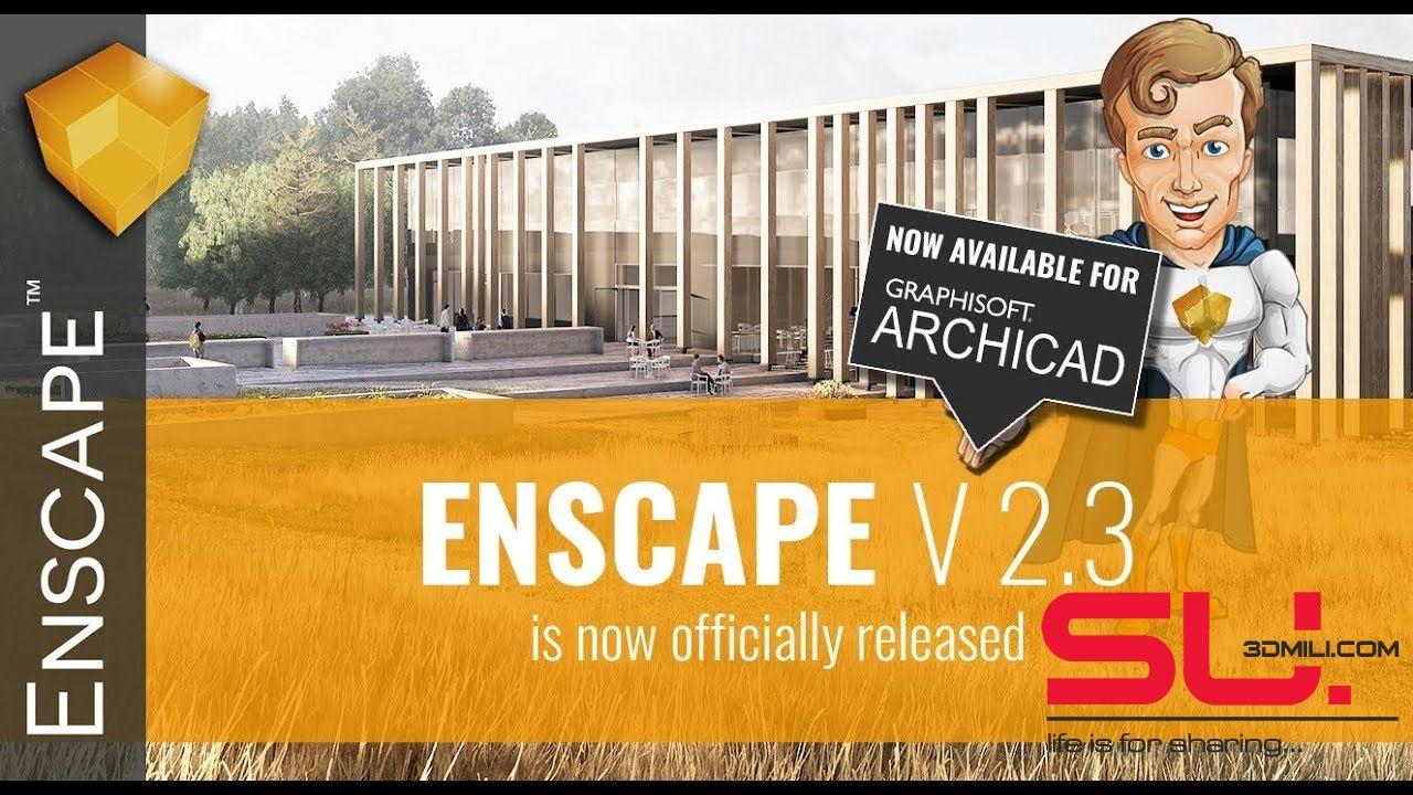 03  Plugin Enscape 2 3 FULL Crack Sketchup Free Download | Sketchup