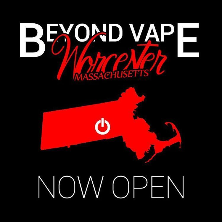 Beyond Vape is proud to announce that our newest location is now open for  business! Come stop by @beyondvapeworcester and check out the new digs!