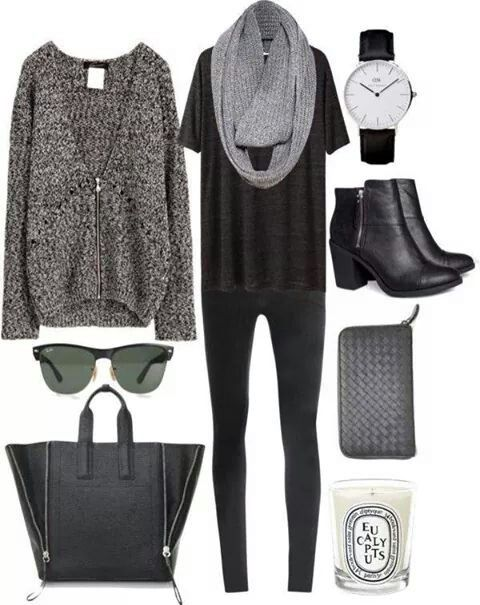 8ac2f456ca3 super casual. love the cozy sweater for fall.