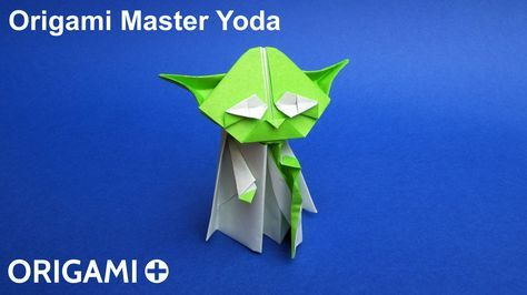 Photo of Origami Master Yoda