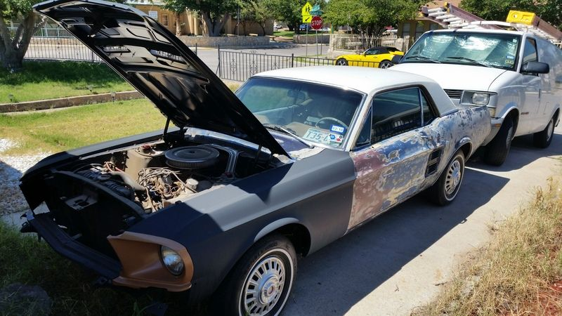 Cars For Sale El Paso >> 1967 Ford Mustang For Sale By Owner El Paso Tx Oldcaronline Com