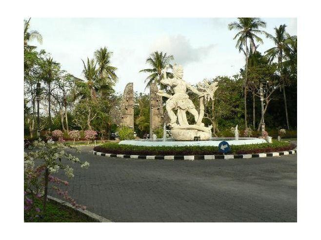 Nusa Dua, Bali...THE roundabout :)