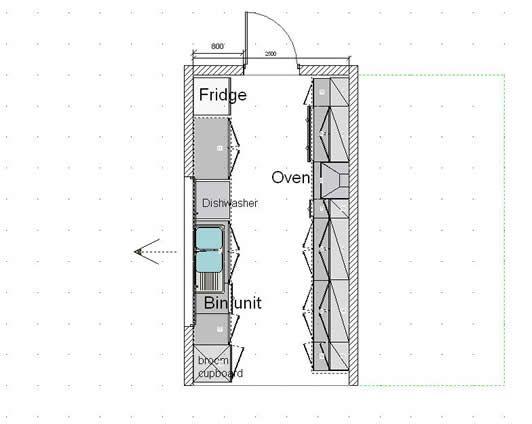 Galley Kitchen Floor Plan Galley Kitchen Layout Kitchen