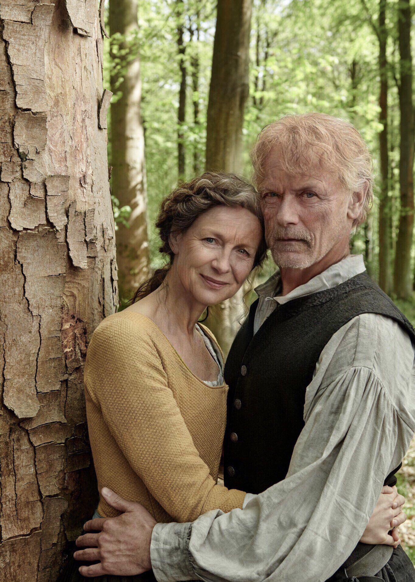 Divine Elderly People The Best Couple Ever Gabaldon Outlander Outlander Jamie Jamie Fraser Outlander