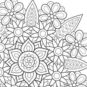 Additional Images Of Flower Mandalas Coloring Book By Thaneeya McArdle