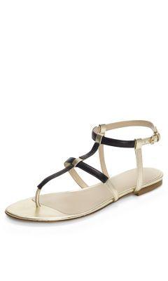 971059b0cf9956 Danton Metallic Sandal - Club Monaco Women CM Shoes Sandals - Club Monaco  Canada