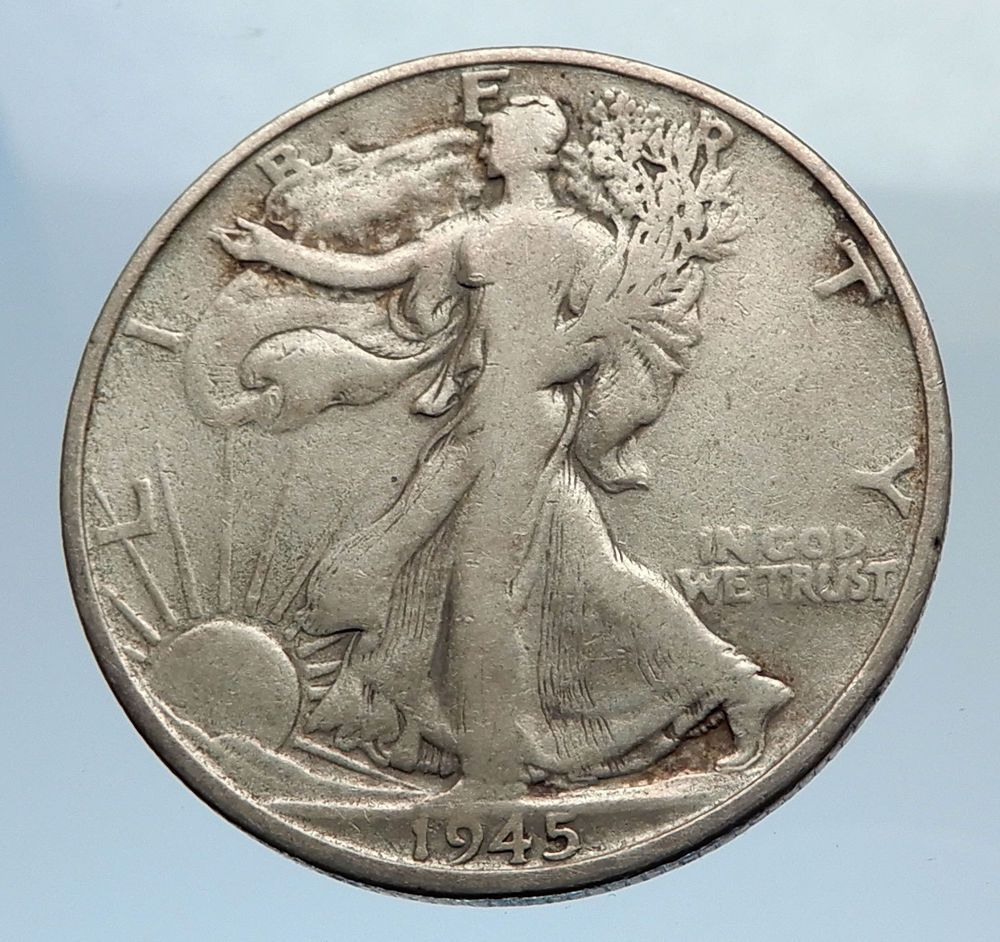 what is the value of a 1945 silver half dollar