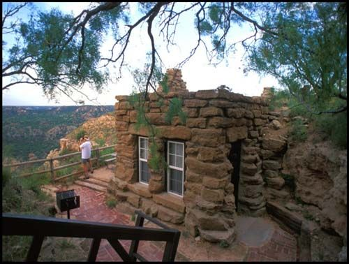 davis mountains lodging | This cabin, located at Palo Duro Canyon ...
