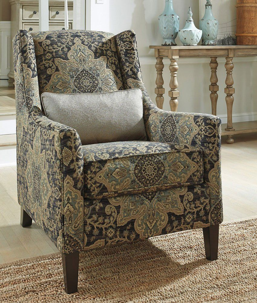 Classic wingback Hartigan yx Accent Chair by Ashley Furniture s