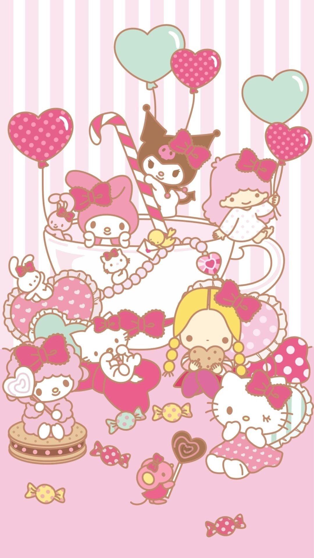 Sanrio Tumblr Hello Kitty Backgrounds Hello Kitty Images Hello Kitty Wallpaper