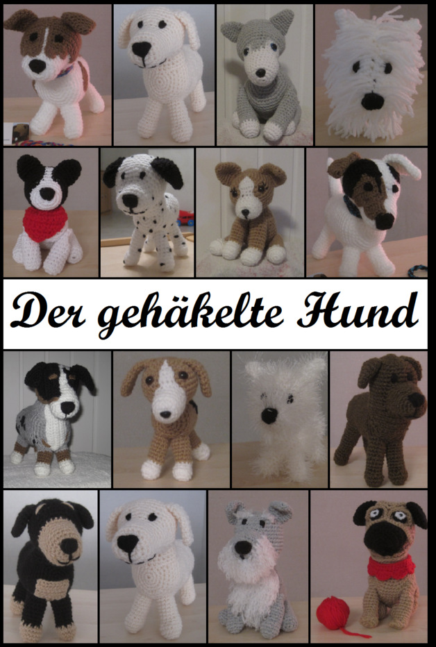 Der gehäkelt Hund - Buch - Haakpatronen, Amigurumi en Knuffels