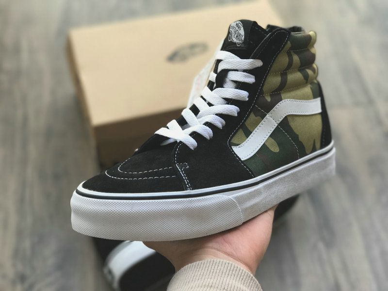 0662228c8f Sophnet x Vans Black Camo White SK8 Hi Zip Japan Shoe Vans For Sale  Vans
