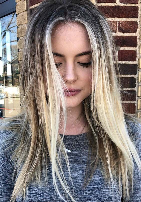 Sensational Ideas Of Nordic Hair Colors To Make You Hair