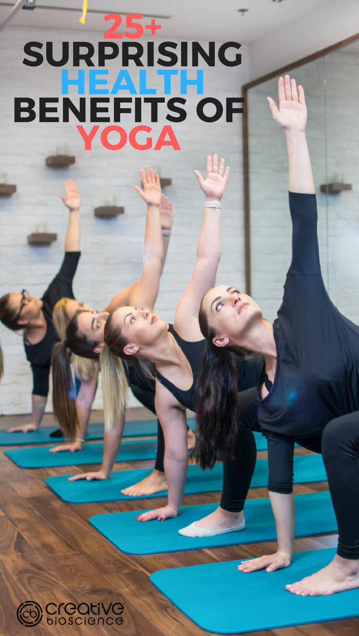 Surprising Health Benefits of Yoga  Benefit Yoga and Healthy