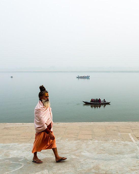 Sādhu, Varanasi, India