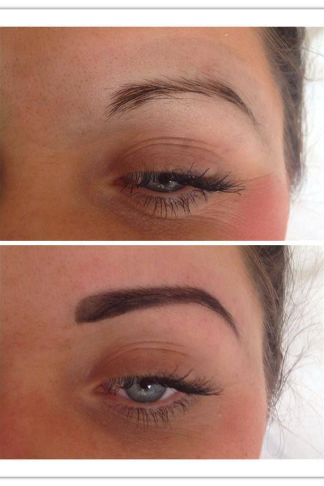 Before and after HD Brows | Eyebrow beauty, Brows, Hd brows