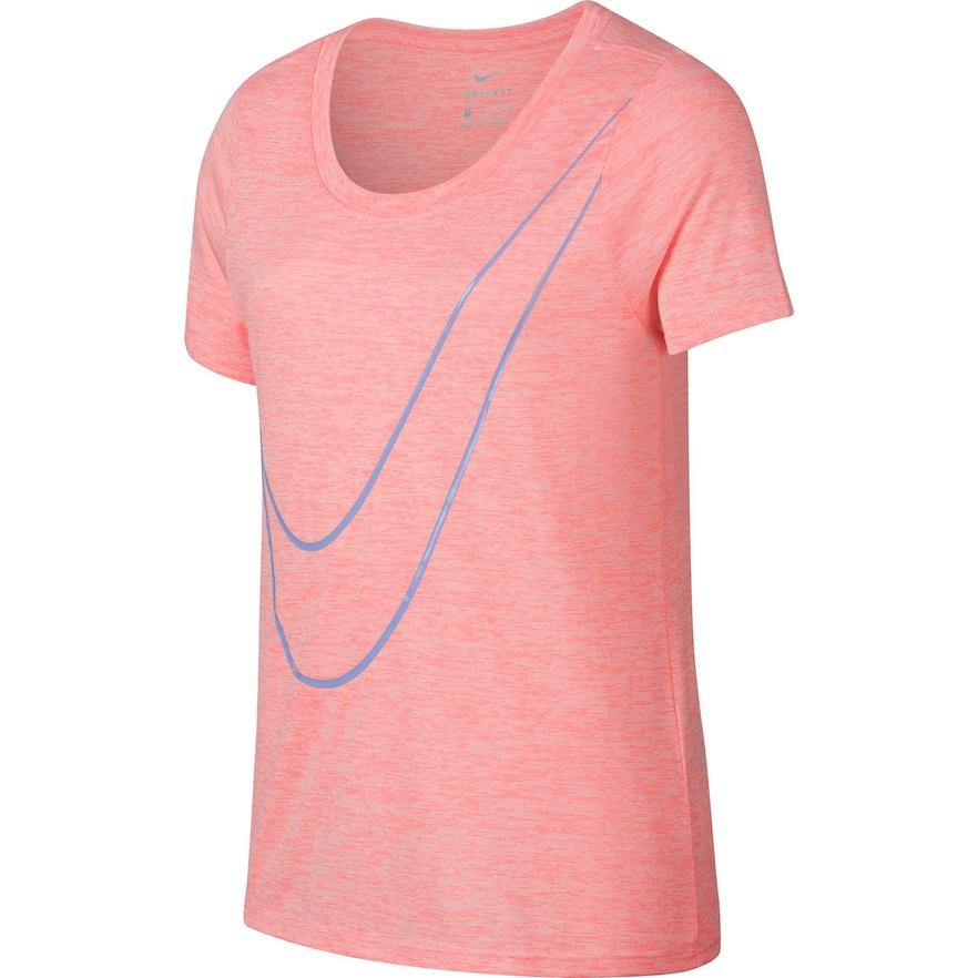 e86ef96e Girls 7-16 Nike Victory Veneer Swoosh Short Sleeve Tee, Red ...