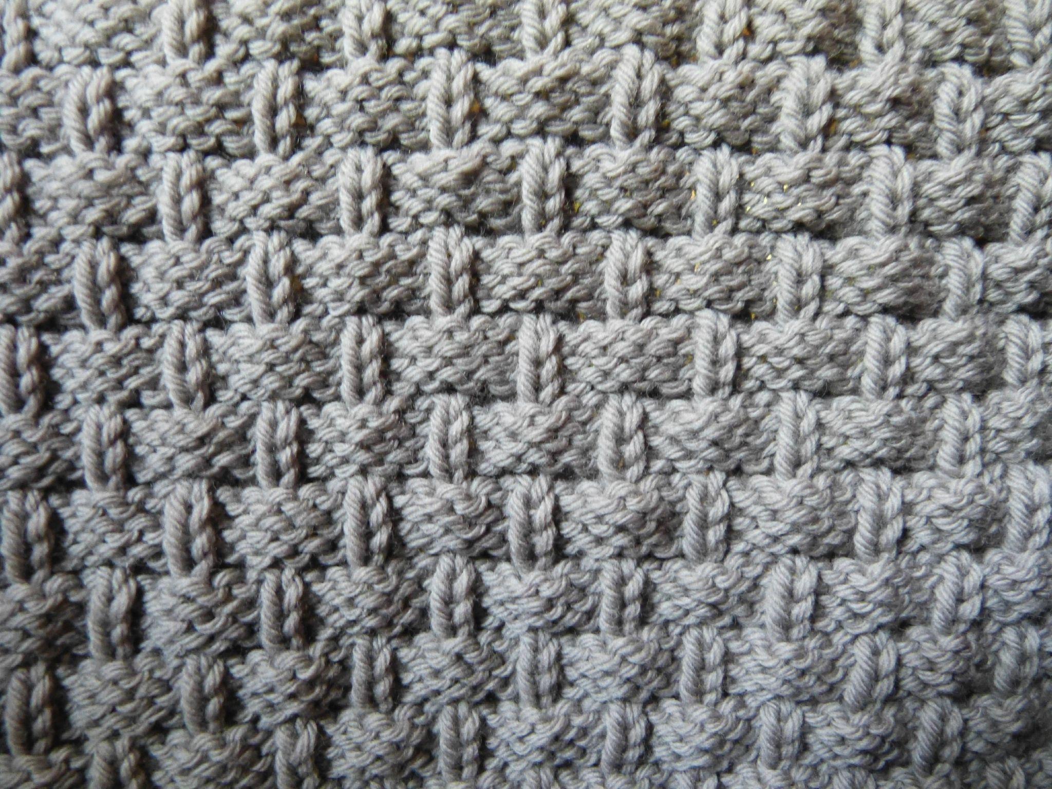 point de vannerie tricot pinterest tressage de panier points et tricot. Black Bedroom Furniture Sets. Home Design Ideas