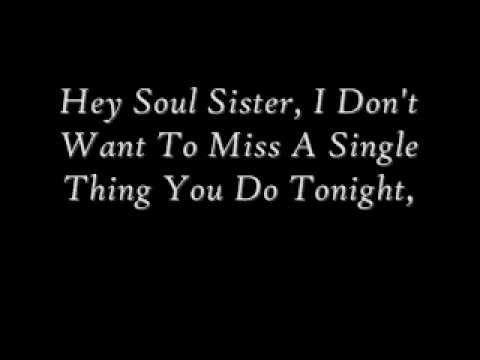 Hey, Soul Sister ~ Train @belen barriga