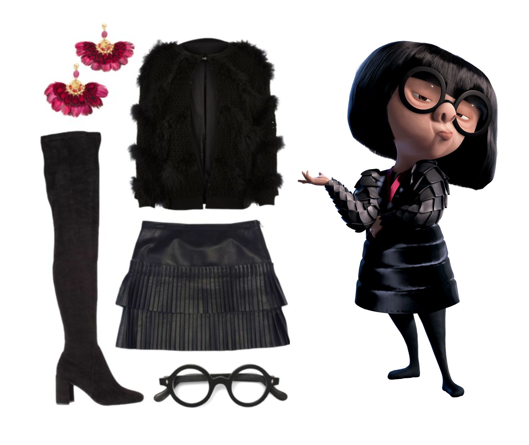 81d451015fdd29 I totally dress like Edna Mode, you guys. With a side of Merida, when I  want to add some (dark) color.