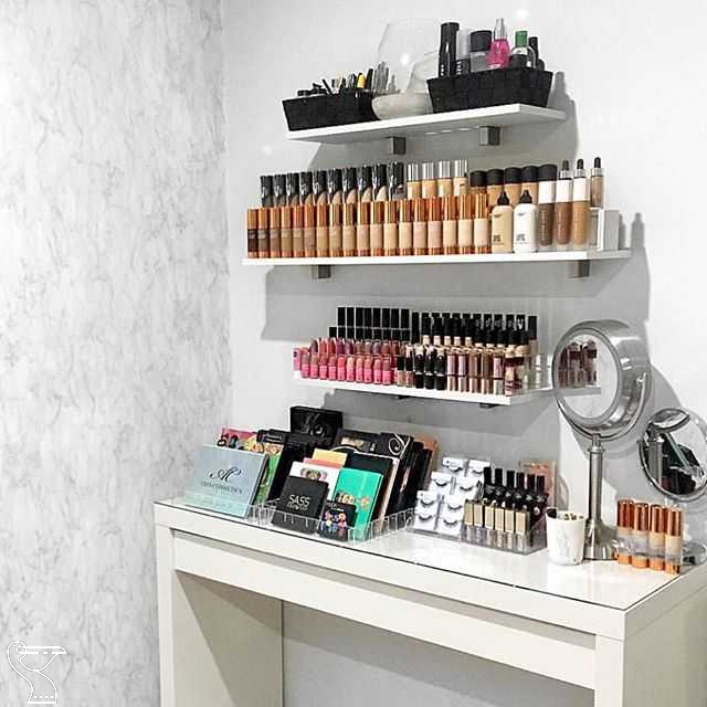 "ÉTOILE COLLECTIVE on Instagram: ""We love helping you guys get organised and create your dream vanity room #makeuporganizations -   14 makeup Vanity goals ideas"