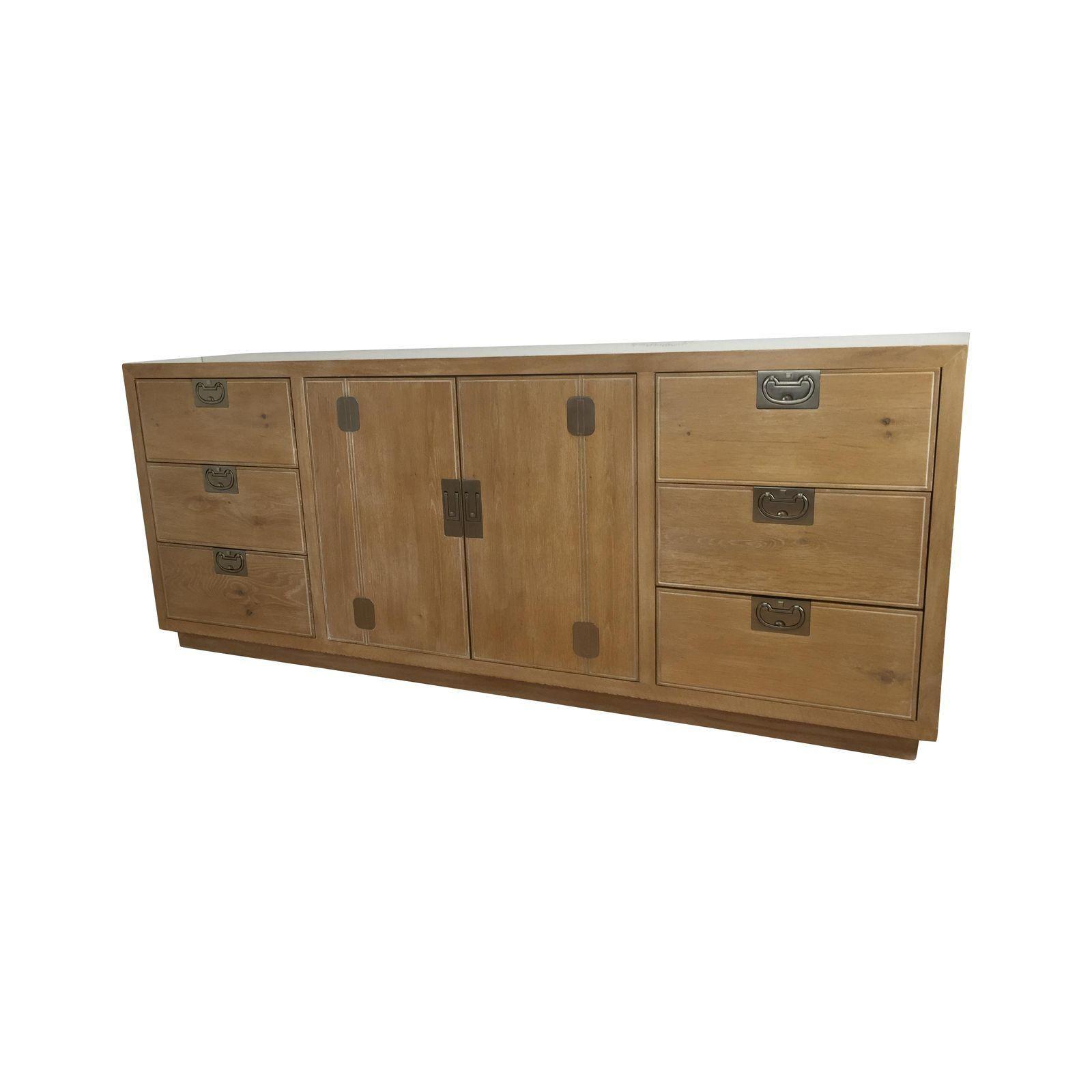 Washed Oak Henredon Dresser | Dresser, Cabinet furniture ...