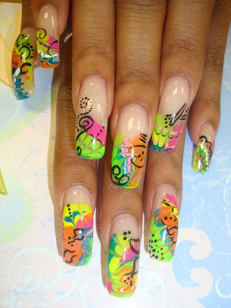 colorful-designs | Fashionable Nail | Pinterest