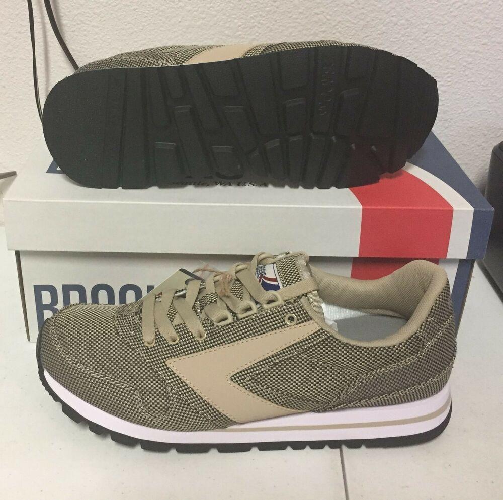 99f04be2dff NEW BROOKS CHARIOT SAFARI MENS D Medium Width Vintage Retro NIB Limited   Brooks  Running